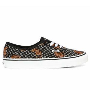 Vans Authentic Tiger Floral Black Sneakers